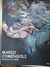 Bellasi - Mario Comensoli. Ritorno in Italia - arte - Svizzera -pittori svizzeri