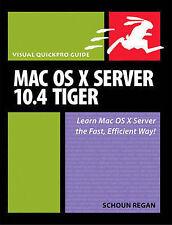 Mac OS X Server 10.4 Tiger: Visual QuickPro Guide-ExLibrary