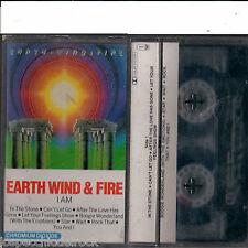 Earth wind & Fire Iam -  musicassetta Usata  [MC255]