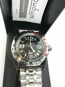 Vostok Amphibian 110903 Watch Military Diver Russian Mechanical Auto