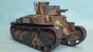 1/35 Built Fine molds WW2 Japanese Army Type 89 Ko Tank Bataan, Luzon 1942
