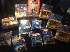 Batman Action Figure And Batman Hot-wheels Collection