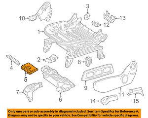 MERCEDES OEM 15-18 GLA250 Front Seat-Control Module Left 1669008506