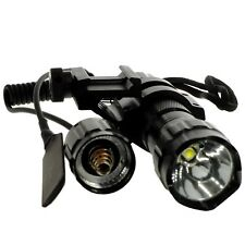 5 Mode 1220 lumen CREE LED Weapon light Weaver/Picatinny Rail Mount Light+Remote