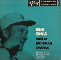 "Bing Crosby-Bing Sings Whilst Bregman Swings Vinyl EP 7"" Single.Verve EPV 5020."
