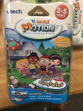 NEW~VTech VSmile V Motion Disney Little Einsteins Video Learning Game Cartridge