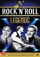Rock n Roll Legends 4 DVD Set Legends Soul 60's Superstars & Greats (Music DVD)