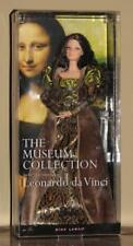 NIB Gorgeous Barbie Museum Art Da Vinci Mona Lisa Doll Pink Label Collector NRFB