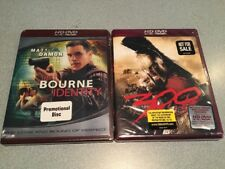 HD-DVD movie BRAND NEW SEALED LOT OF 2   THE BOURNE IDENTITY / 300  FREE SH