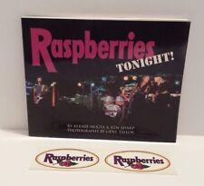 RARE* RASPBERRIES TONIGHT! Hogya & Sharp 2005 Paperback 1st ed w/STICKERS!