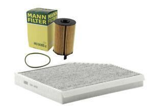Mann-Filter Oil Cabin FiltersRAPKIT35529 fits Audi Q5 8RB 3.0 TDI quattro