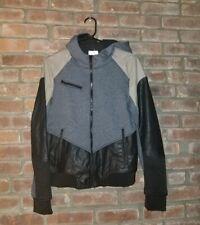Blank NYC Hoodie Spring Bomber Jacket Size Medium