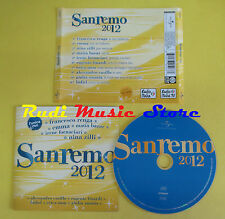 CD SANREMO 2012 compilation RENGA EMMA ZILLI FINARDI CASILLO no lp mc dvd (C15*)