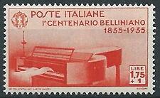 1935 REGNO BELLINI 1,75 LIRE MNH ** - T198