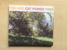 CAT POWER - YOUR ARE FREE digipak with lyrics/poster (CD ALBUM)