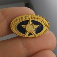 Vintage Employee Service Award 30 years Star style pin pinback button RARE *KK