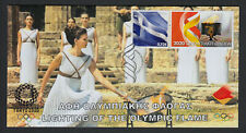 Greece 2020 Lighting of the Olympic Flame Tokyo Olympic Games Unofficial FDC