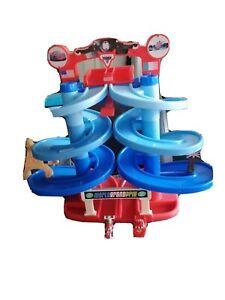 Fisher Price Disney Cars 2 Lighting Mcqueen Vs Francesco Race Ramp Disney Pixar
