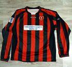 DRONFIELD TOWN FC / Home Football Shirt Jersey / Prostar / Size XL