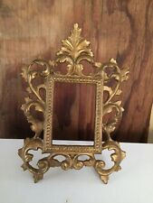 An Antique Bronze Picture Frame