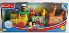 FISHER PRICE 2002 LITTLE PEOPLE MUSICAL ZOO TRAIN JUNGLE ANIMALS NEW SEALED MISB