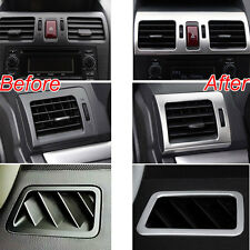 Front Air Condition Vent Outlet Chrome Cover Trim For Subaru Forester Impreza XV