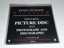 "7"" Janet Jackson - Escapade PICTURE DISC (with Photograph/Discography) SEALED"