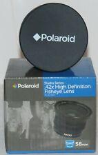Polaroid Studio Series .42X HD Fisheye Lens 58mm