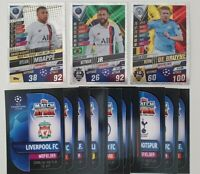 2020 Match Attax 101 - Lot of 20 Soccer Cards inc 3 shiny