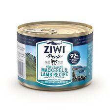 Ziwi Peak Moist Cat Food - New Zealand Mackerel & Lamb - 185g x 12 Cans