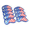 9pcs Golf Iron Covers USA Flag DesignThick Synthetic Leather Iron Head Covers