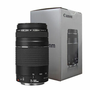Canon EF 75-300mm f/4-5.6 III Telephoto Zoom Lens for Canon SLR Cameras