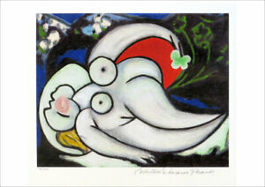 Pablo Picasso Reclining Nude Limited Edition Giclee Estate Signed 13 x 20