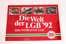 LGB Kataloge / Zeitschriften - LGB Kalender 1992 Die Welt der LGB '92