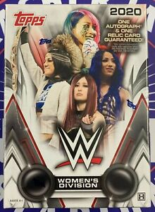 2020 Topps WWE Women's Division Factory Sealed