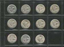 1953 TO 1963 SIXPENCE -*COMPLETE SET*- QUEEN ELIZABETH II - 11 COINS - EF TO UNC