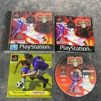 Tekken 3 PS1 PlayStation 1 PAL Game Complete Black Label Namco Fighter