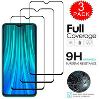 For Xiaomi Redmi Note 9S 8T 7 6 5 Pro FULL COVER Tempered Glass Screen Protector