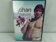 Johan DVD, 2008 A French Classic Unseen Since 1976 Subtitled Gay Interest