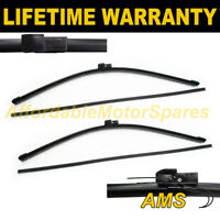 "FRONT PAIR WIPER AERO UPGRADE BLADES 26 + 26"" FOR RANGE ROVER L322 2002-2012"
