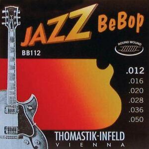 Thomastik BB112 E-Saiten 012-050 BeBop Round Wound light Gitarrensaiten