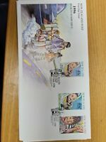 New zealand stamps  1996 Healh Stamp Issue set of 3 FDC