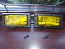 RENAULT 5 GT turbo NEW FRONT YELLOW FOG LIGHTS VALEO CIBIE PH2 R9 R11 R21 R25
