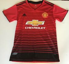 4813c5c90 Manchester United 2018 Adidas Climalite Football Jersey Size Small