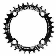 104bcd 32t Fahrrad Single Narrow Wide Kettenblatt einzelnes Round Zähne Alu De