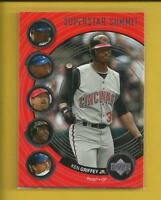 Ken Griffey Jr 2002 Upper Deck Superstar Summit Insert Card #SS6 Cincinnati Reds