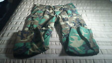 Military Green Adjustable Camouflauge Cargo Pants (33-38.5W, 30.25I, 12R) EUC!
