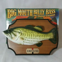 1999 Gemmy Big Mouth Billy Bass Singing Fish Sensation Don't Worry Be Happy