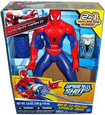 Web Slinging Spiderman 12 In Figure Spidey-Shot Web Fluid MIB Marvel Hasbro Toy