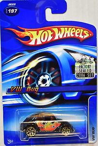 Hot Wheels 2006 VW Bus # 197 Noir Usine Scellé